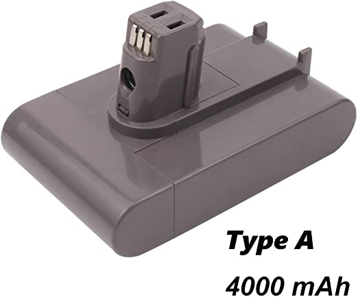 VANON Batería de Repuesto Tipo A de 22,2 V 4000 mAh para Dyson ...