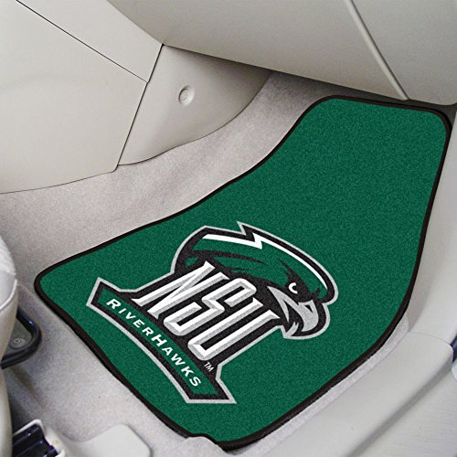 Fanmats Sports Team Logo Northeastern State University 2 - piece Carpeted Car Mats 18