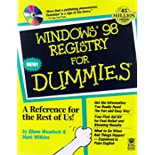 Windows 98 Registry For Dummies