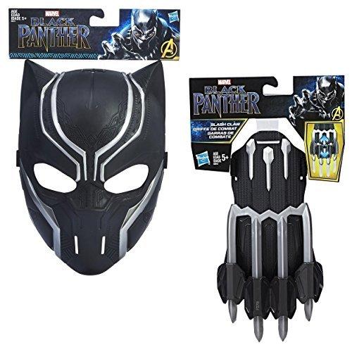 Marvel Black Panther Mask + Slash Claw Bundle]()