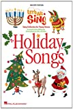 Let's All Sing Holiday Songs, Alan Billingsley, 1423405978