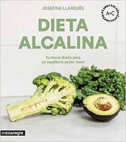 dieta alcalina menú