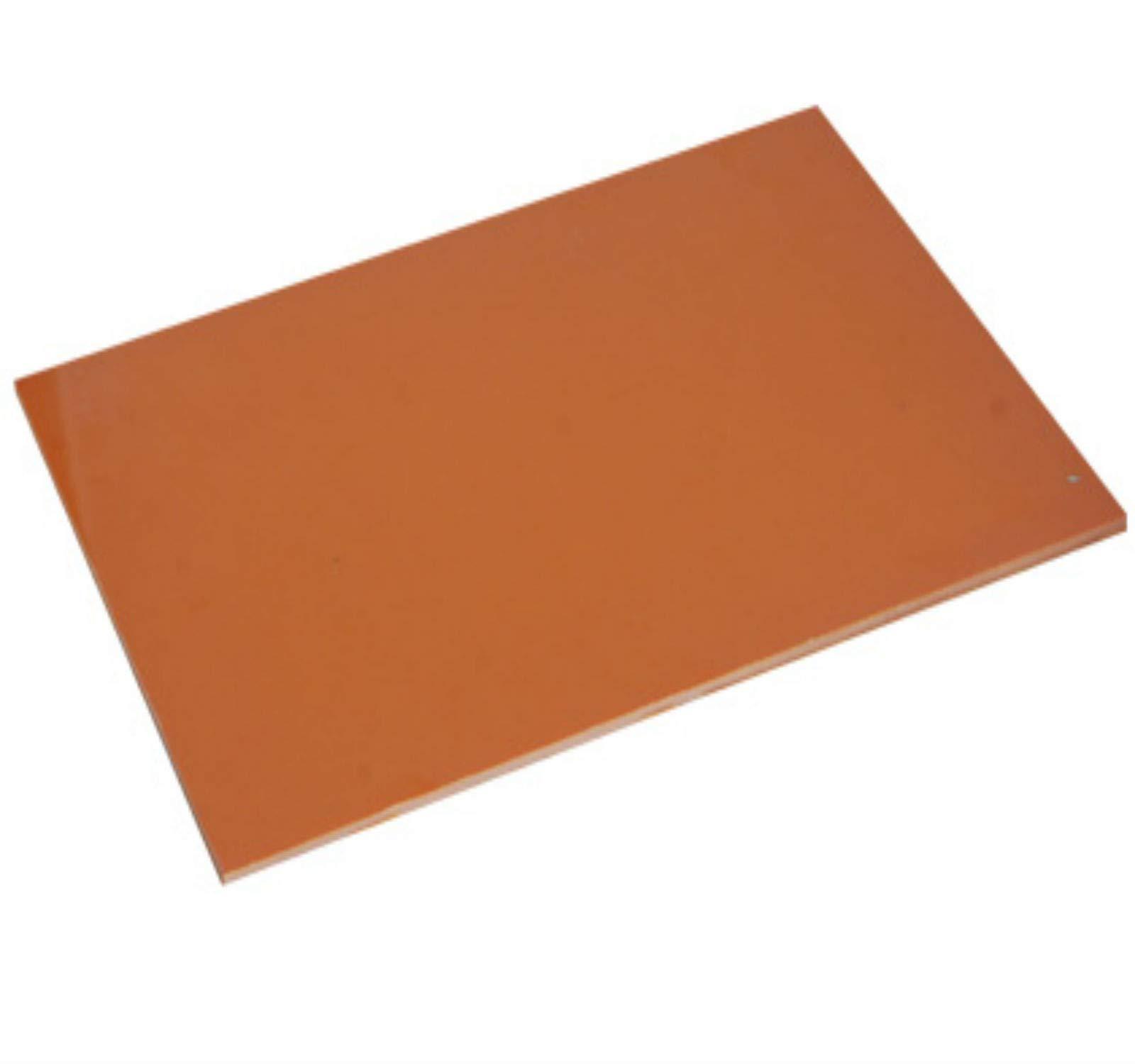 1pcs Bakelite Phenolic Flat Plate Sheet 5mm x 300mm x 300mm by Bakelite