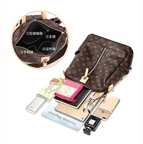 Fashion Shoulder Bag Rucksack PU Leather Women Girls Ladies Backpack Travel bag Mini Backpack Wallet
