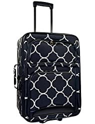 Ever Moda Moroccan Carry On Luggage