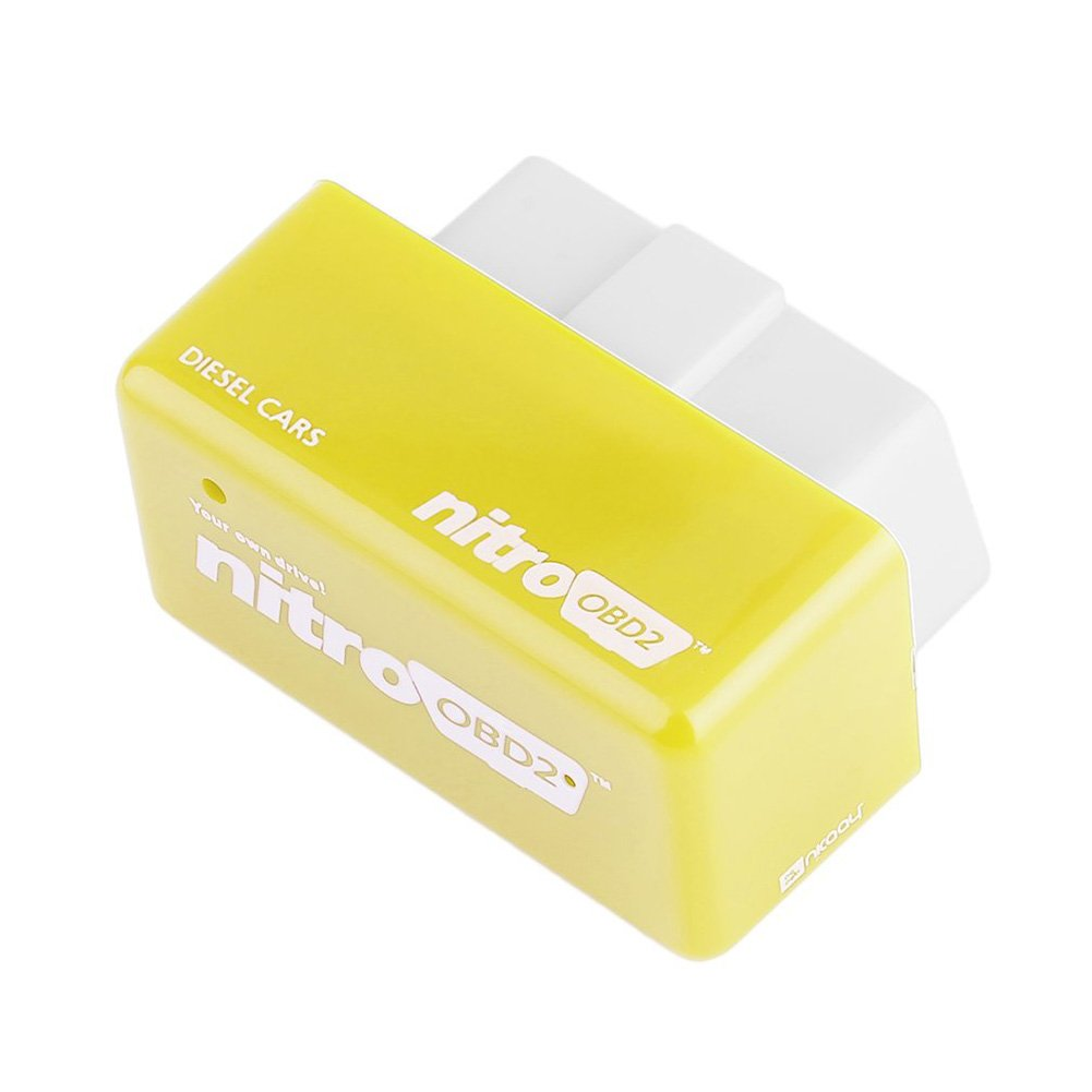 eamqrkt New Nitro OBD2 Performance Chip Tuning Box Plug /& Drive For Gasoline Petrol Cars