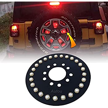 Amazon Com For Hummer H3 Pair Of Bolt On Rear Tail Brake