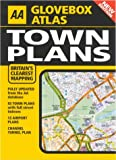 Town Plans, AA Publishing Staff, 0749538988