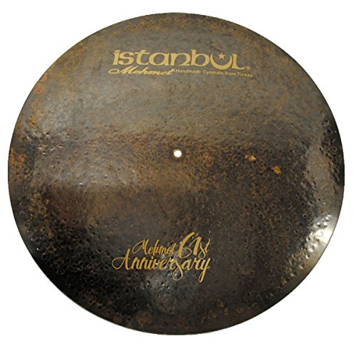 Istanbul Mehmet Cymbals Signature Series MT-AN-VFL22 22-Inch 61st Anniversary Vintage Flat Ride Cymbal