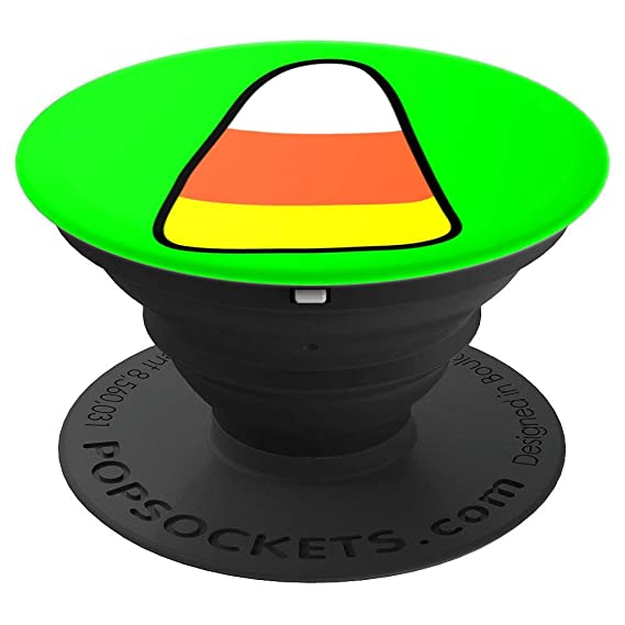 halloween candy corn trick or treat group novelty fun gift popsockets grip and stand for