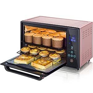 Horno eléctrico tarta de huevo horneada en casa menú de pantalla ...