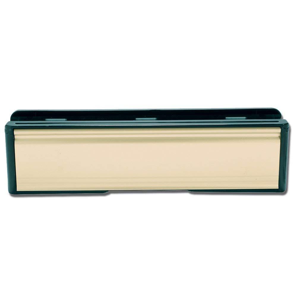 10 et 1/2, 270 mm UPVC or en laiton à lettres en bois télescopique avec brosse anti-courants d'air 270 mm UPVC or en laiton à lettres en bois télescopique avec brosse anti-courants d'air Djm Direct