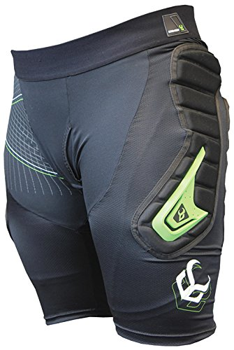 Demon Snow Flex-Force X D30 Short Body Armor - Men's Black, XL by Demon