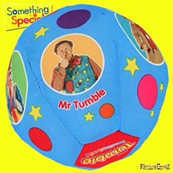 Something Special Mr Tumble/'s Fun Sounds Spotty Ball Kick Throw Catch Soft Play