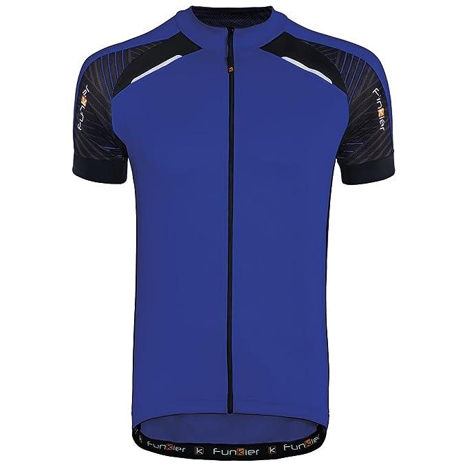 aa216eab4 Amazon.com  Funkier Men s Firenze Short Sleeve Cycling Jersey  Clothing