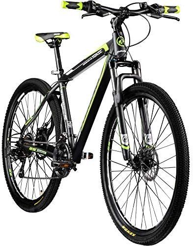 Galano 29 Zoll Mtb Toxic Pulse Mountainbike Scheibenbremsen Shimano Tourney Schwarz Grün Sport Freizeit