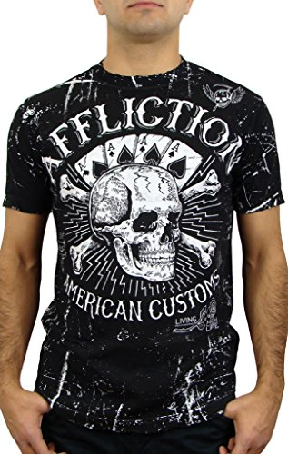 Affliction Life - Affliction High Life Reversible Short Sleeve T-shirt XXXL White