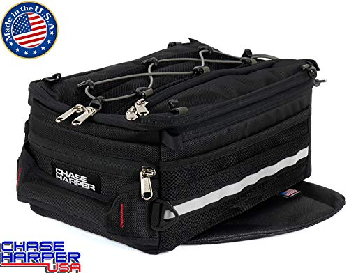 Chase Harper 800M Sport Trek Black Magnetic Tank Bag - 14.9 Liters