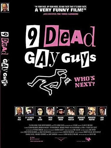 9 Numb Gay Guys Poster Movie 11 x 17 Inches - 28cm x 44cm Glen Mulhern Brendan Mackey Steven Berkoff Michael Praed Vas Blackwood Simon Godley Carol Decker