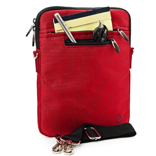 RED Mighty Nylon Jacket Slim Compact Protective Shoulder Bag