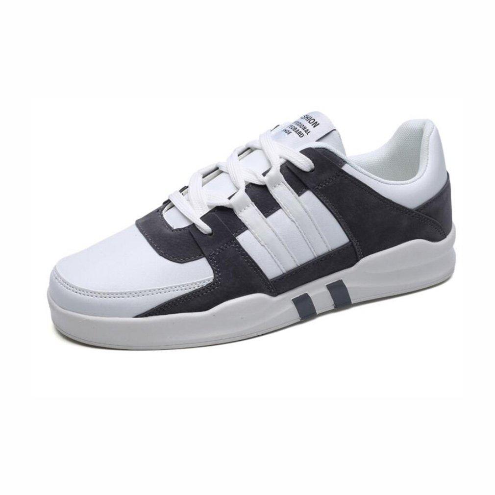 Zapatillas de Deporte de los Hombres, Versión Coreana de los Zapatos Ligeros Casuales de los Hombres, Zapatos de los Deportes del Verano, (Color : Segundo, Tamaño : 43) 43|Segundo