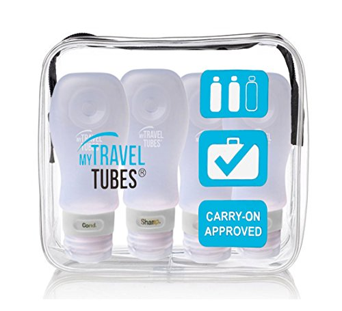 5 pieces Travel bottle container pouch - 2