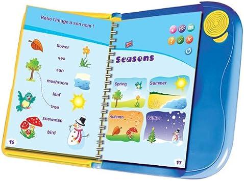 Logitoys 10049 - Libro electrónico para Aprender inglés [Importado de Francia]: Amazon.es: Juguetes y juegos