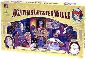 MB 40332100 Agathas letzter Wille - Juego de Mesa [Importado de Alemania]: Amazon.es: Juguetes y juegos