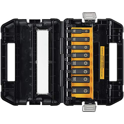 DEWALT Impact Socket Set, SAE, 3/8-Inch, 10-Piece Now $32.99 (Was $71.00)