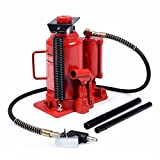 Goplus 20 Ton Hydraulic Low Profile Heavy Duty Bottle Jack Lifts Hoist