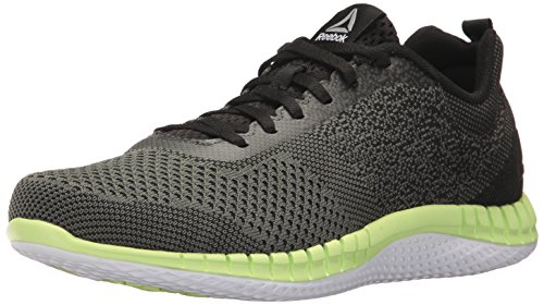 Reebok Men's Print Prime Ultk Running Shoe, ironstone/black/electric flash/white/pewter, 11 M US