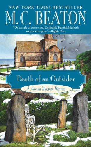 book cover of Death of an Outsider