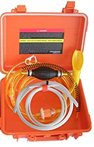 GasTapper Portable Liquid Transfer Gasoline Water Siphon in a Solid Fume Proof Case 18 Feet of Fuel Hose & Modern Car Adapter - See all 5 models - search GenTap in Amazon search bar