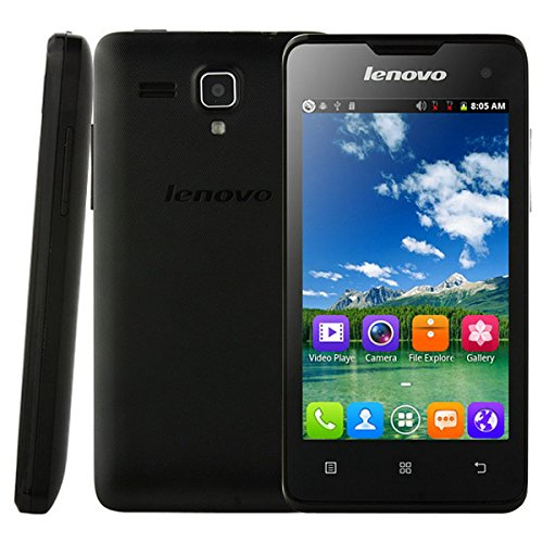 Unlock Original Lenovo A396 4.0 Inch 3g Android 2.3 Smart Phone Sc8830a Quad Core 1.3ghz Wcdma & GSM Network (Black)