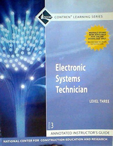 Electronic Systems Technician Level 3, Annotated Instructor