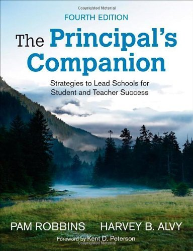 The Principal's Companion: Strategies and Hints to Make the Job Easier by Robbins Pamela M. Alvy Harvey B. (2002-11-14) Paperback