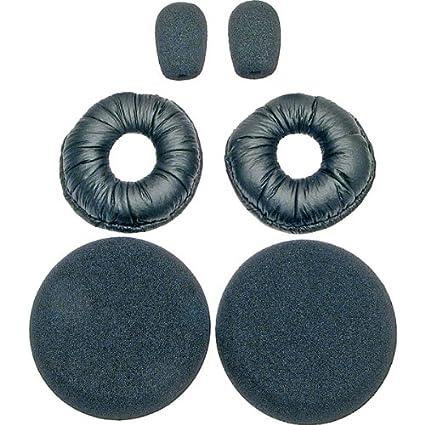 6132543a192 Amazon.com: BlueParrott 202846 Replacement Ear/Mic Cushion Kit, 6 ...