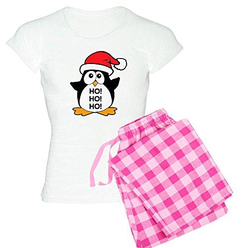 Amazon.com  CafePress - Cute Christmas Penguin Women s Light Pajamas -  Womens Novelty Cotton Pajama Set 097c6df20