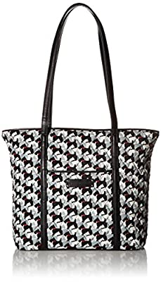 Vera Bradley Small Trimmed Tote Bag