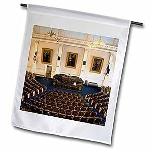 Danita Delimont - Capitol Buildings - Capitol building, Concord, New Hampshire - US30 DFR0057 - David R. Frazier - 18 x 27 inch Garden Flag (fl_92339_2)