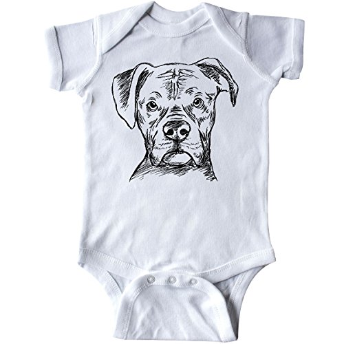 inktastic - Boxer Sketch Portrait Infant Creeper 6 for sale  Delivered anywhere in USA