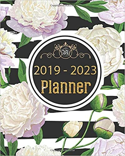 2019-2023 Planner: Five-year Calendar Planner 60 Months From January 2019 To December 2023 por Miss Audrey epub