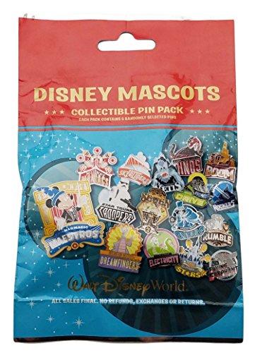 Disney Pin - WDW - Disney Mascots Mystery Pin (Mystery Pin Set)