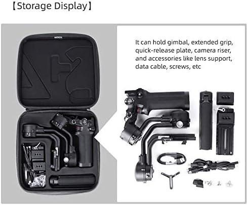 Sac de transport pour DJI RSC 2 Gimbal 3 axes Stabilisateur portable Hardshell Sac de voyage pour DJI RSC 2 et accessoires