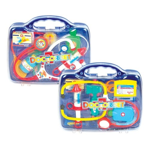 10 PC DOCTOR PLAYSET, Case of 24 by DollarItemDirect
