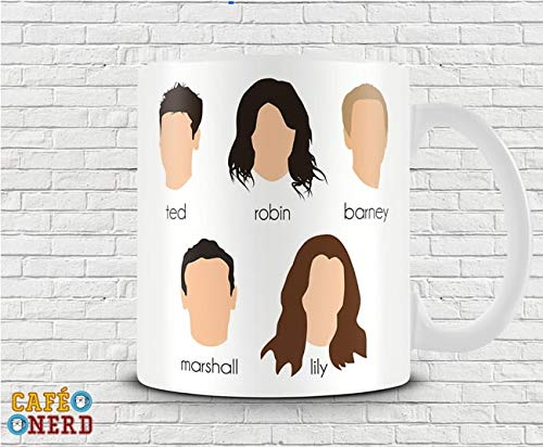 CANECA HOW I MET YOUR MOTHER PERSONAGENS #2