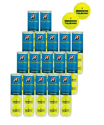 브리지스톤 경식 테니스 볼 투어 프로 1상자(15깡통 60공)+2 관증량(8공)