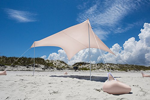 Otentik Beach Sunshade 7-8 with Sandbag Anchors