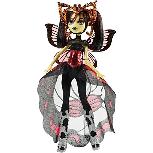 [Monster High Boo York, Boo York Gala Ghoulfriends Luna Mothews Doll] (Boo In Monster Costume Doll)