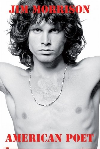The Doors - Music Poster Jim Morrison - American Poet By Stop Online